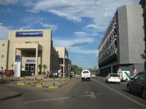 Botswana-GaboroneStreetScene