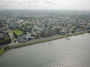 La città di Librevile, Gabon