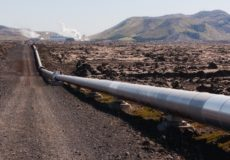 Distant pipe
