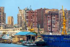 cranes-and-construction-along-the-shore-on-alexandria-egypt