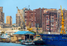 cranes-and-construction-along-the-shore-on-alexandria-egypt