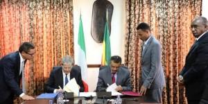 La firma dell'accordo di Cooperazione